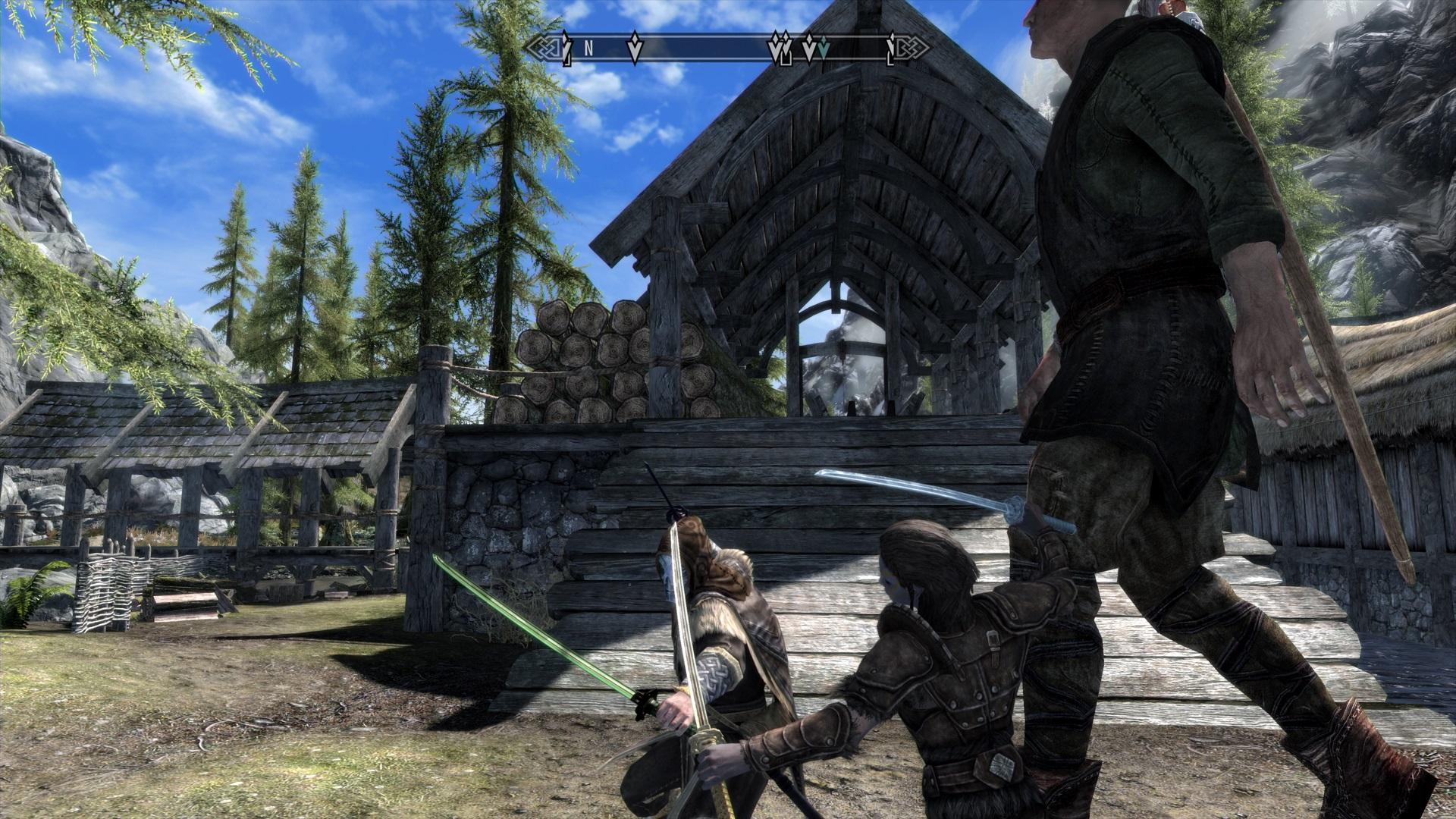 Katana Pack - [PS4]Skyrim MOD