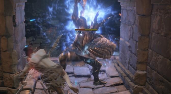 [ダークソウル3]デーモン遺跡探索②エストのかけら、黒騎士の剣