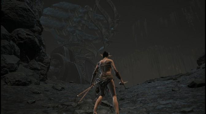 [ダークソウル3]デーモン遺跡探索③イザリスの杖、3連矢止める