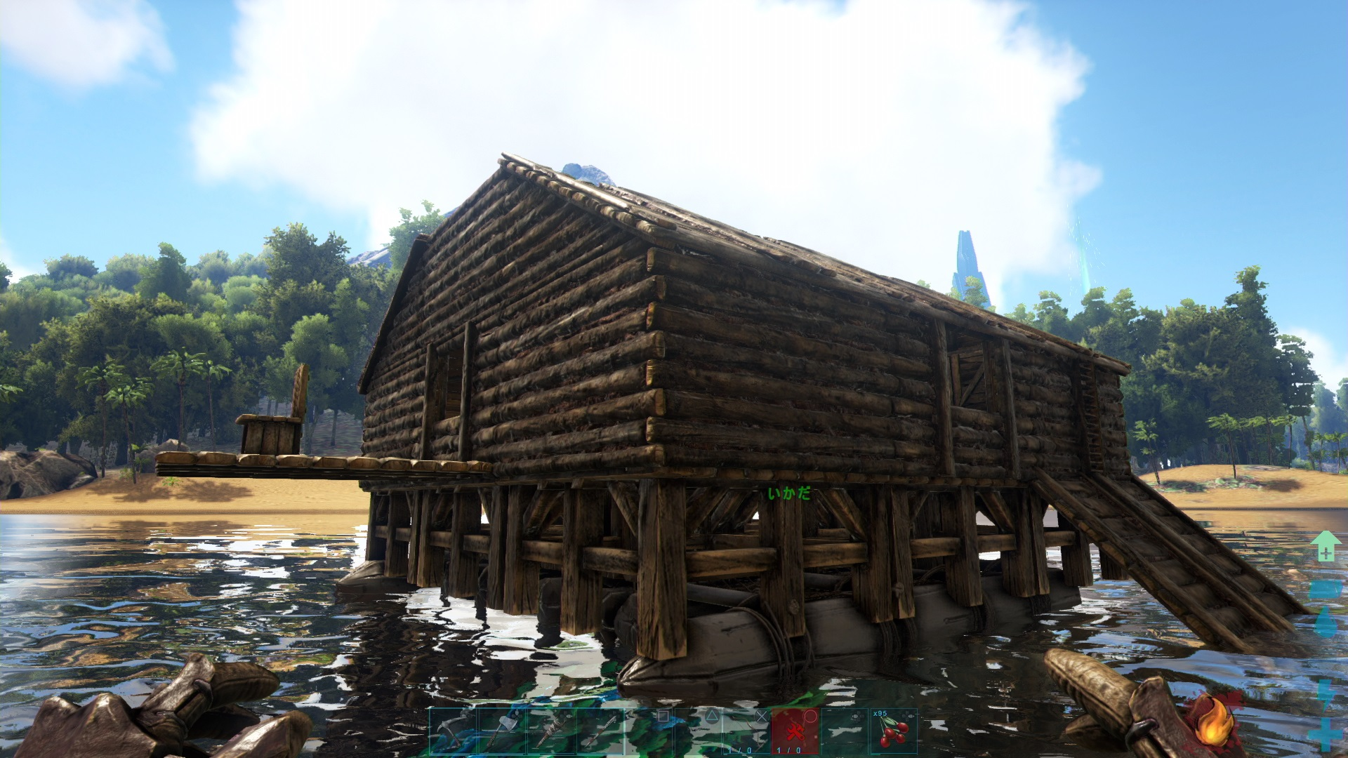 いかだ Ark